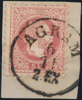 "Austria-Hungary-Croatia postmark ""AGRAM EX."" ""AGRAM EX."""