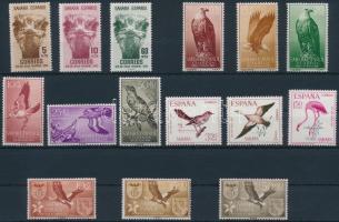 1952-1967 Birds 5 sets, 1952-1967 Madár 5 klf sor