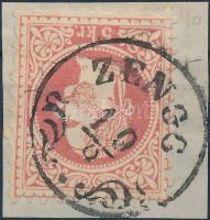 "Austria-Hungary-Croatia postmark ""ZENGG"" ""ZENGG"""