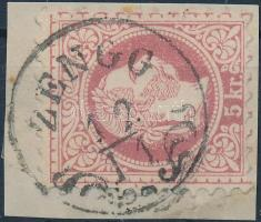 """ZENGG"" Austria-Hungary-Croatia postmark ""ZENGG"""