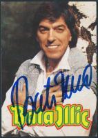 Bata Illich német énekes saját kézzel aláírt fotólap / autograph signed card