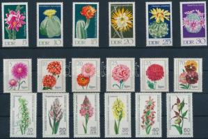 1970-1976 Növények 3 klf sor