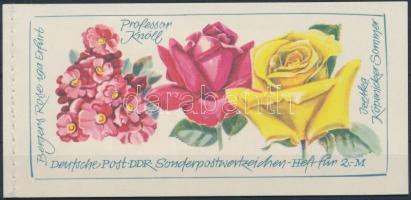 1972 Nemzetközi rózsakiállítás bélyegfüzet MH 6 (Mi 1778-1780)