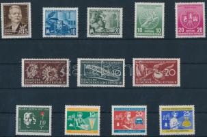 1953-1960 5 klf bélyeg + 3 klf sor