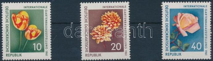 1961 Virágok sor 854-856