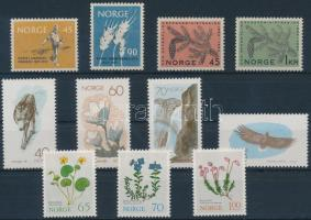 Norway 1959-1973 4 sets, Norvégia 1959-1973 4 klf sor