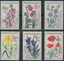 1964 Virágok sor Mi 1471-1476