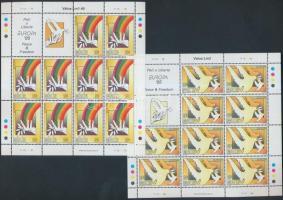 1995 Europa CEPT, béke és szabadság kisív sor Mi 954-955