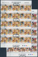1996 Europa CEPT, híres nők kisív sor első napi bélyegzéssel Mi 691-692