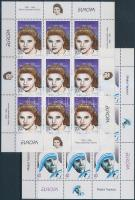 1996 Europa CEPT, híres nők kisív sor Mi 74-75