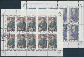 1996 Europa CEPT, híres nők kisív sor első napi bélyegzéssel Mi 210-211