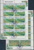 1999 Europa CEPT, természet és nemzeti parkok kisív sor első napi bélyegzéssel Mi 305-306