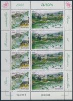 1999 Europa CEPT, természet és nemzeti parkok kisív Mi 2454-2455