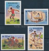 1988 Nyári olimpia sor Mi 1307-1310