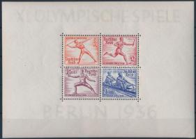 1936 Nyári Olimpiai blokk Mi 6