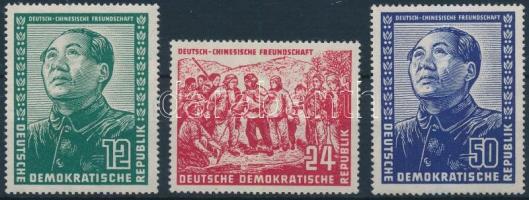 1951 Német-kínai barátság Mi 286-288