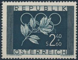 1952 Olimpiai játékok bélyeg Mi 969