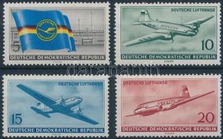 1956 Repülő sor Mi 512-515