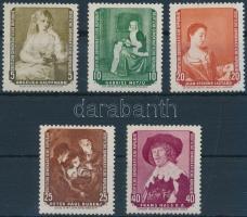 1959 Festmények sor Mi 693-697