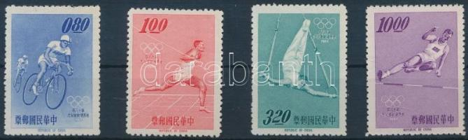 1964 Nyári olimpia sor Mi 546-549