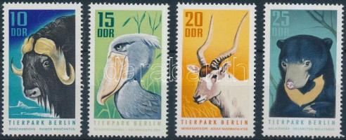 1970 Berlini állatkert sor Mi 1617-1620