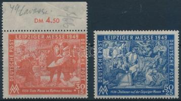 1949 Lipcsei vásár sor Mi 230-231
