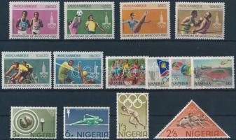 1964-1992 Olympics 3 diff sets, 1964-1992 Olimpia motívum 3 klf sor