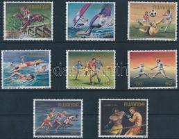 Summer olympics row, Nyári olimpia sor