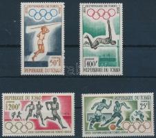 1964 Nyári olimpia sor Mi 120-123