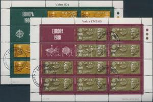 1980 Europa CEPT: híres emberek kisívsor Mi 615-616