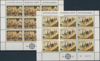 Europa CEPT: folklór kisívsor, Europa CEPT: Folklore mini sheet set