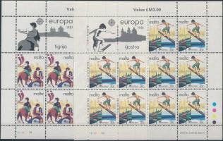 1981 Europa CEPT: folklór kisívsor Mi 628-629