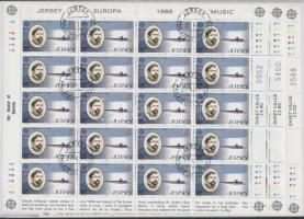 1985 Europa CEPT: A zene éve kisívsor Mi 347-349