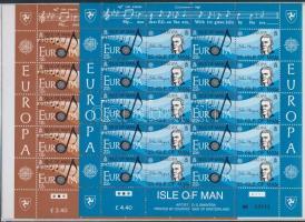 1985 Europa CEPT: A zene éve kisívsor Mi 278-281