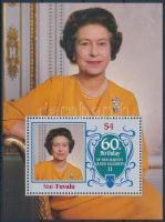 II. Erzsébet királynő születésnapja blokk Queen Elizabeth II's birthday block