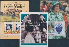 1985-1987 II. Erzsébet királynő 3 klf blokk 1985-1987 Queen Elizabeth II 3 diff blocks