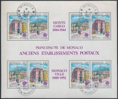 1990 Europa CEPT: postaépületek blokk Mi 47