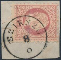 """Austria-Hungary postmark """"SZIKSZÓ"""" """"SZIKSZÓ"""""""