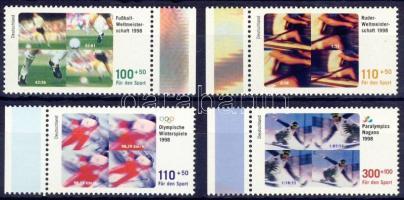 1998 Sport és olimpia ívszéli sor Mi 1968-1971