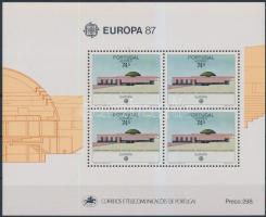 Europa CEPT, architecture block, Europa CEPT, építészet blokk