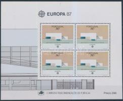 Europa CEPT, modern architecture block, Europa CEPT, modern építészet blokk