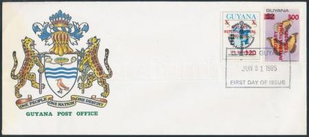 Rotary overprinted values + FDC, Rotary felülnyomott érték + FDC