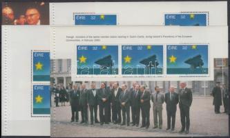 European internal market 4 stamp-booklet sheet, Európai belső piac 4 klf bélyegfüzet-lap