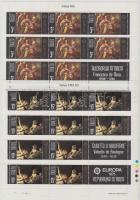 1975 Europa CEPT: Festmények kisívsor Mi 512-513