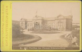 1873 A Bécsi világkiállítás Schwarzenberg herceg pavillonja / 1873 Vienna Expo pavillon of Fürst Schwarzenberg