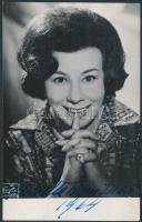 1964 Giulietta Simionato(1910-2010) olasz mezzoszoprán énekesnő aláírása az őt ábrázoló fotón / autograph signature