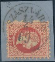 """Austria-Hungary-Romania postmark """"SZÁSZVÁROS"""" """"SZÁSZVÁROS"""""""