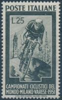 1951 Milánói Kerékpár VB Mi 842