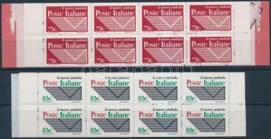 1995 Posta új emblémája 2 klf bélyegfüzet Mi 2413-2414 D