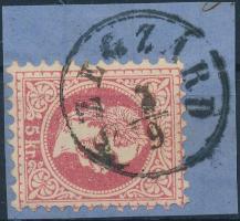 """Austria-Hungary postmark """"SZEGZÁRD"""" """"SZEGZÁRD"""""""